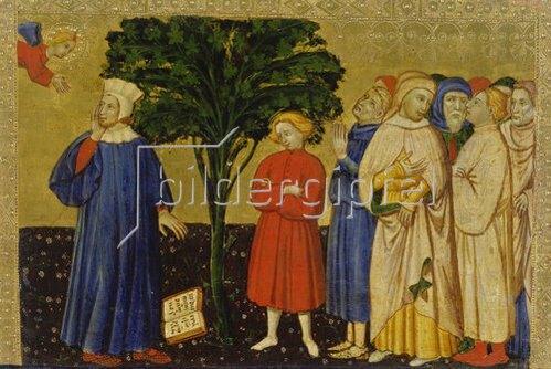 Veronesisch: Der hl. Augustinus bekämpft die Ketzerei.