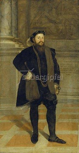 Lambert Sustris: Hans Christoph (I.) Vöhlin von Frickenhausen. 1552 (siehe Bildnummer 6779)