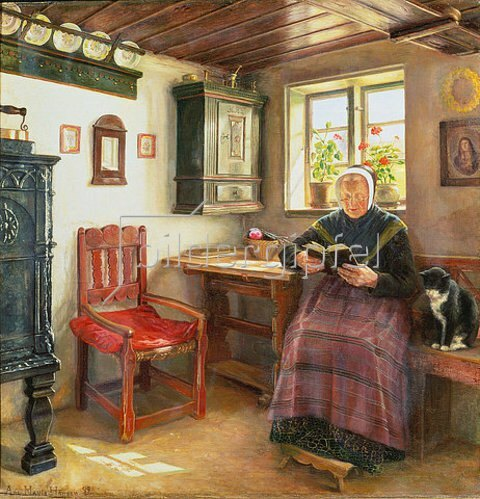 Anne Marie Hansen: Ein gutes Buch. 1899