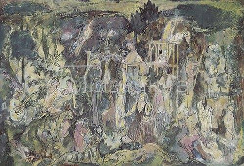 Eugen von Kahler: Der Liebesgarten. 1910/1911.
