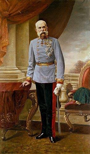 Julius von Blaas: Kaiser Franz Josef I. von Österreich