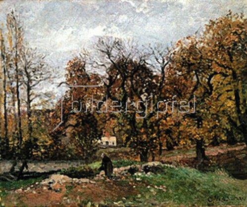 Camille Pissarro: Herbstlandschaft bei Louveciennes. 1871/1872.