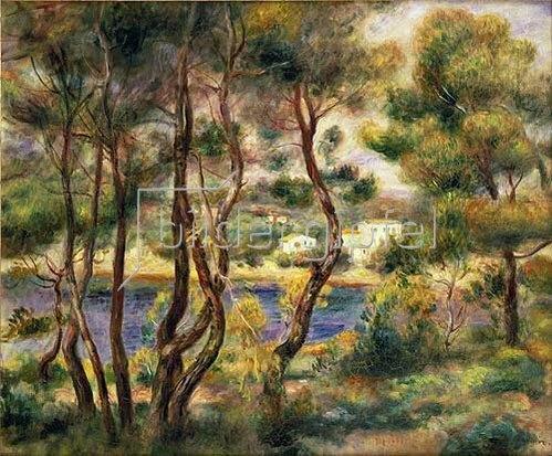 Auguste Renoir: Cap Saint-Jean.