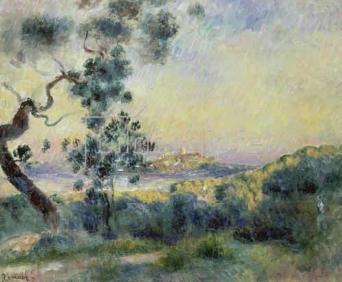 Auguste Renoir: Ansicht von Antibes. 1892/1893.