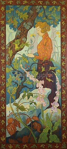 Paul Ranson: Die Fingerhüte (Les Digitales). 1899