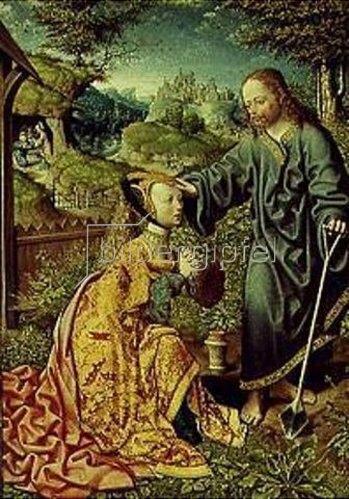 Jacob Corn. van Oostsanen: Christus als Gärtner. 1507.