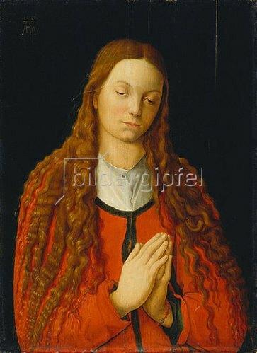 Albrecht Dürer: Bildnis der Katharina Fürlegerin mit offenem Haar.