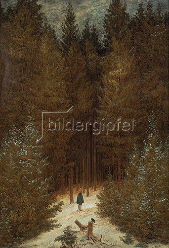 Caspar David Friedrich: Chasseur im Walde. Um 1813/1814.