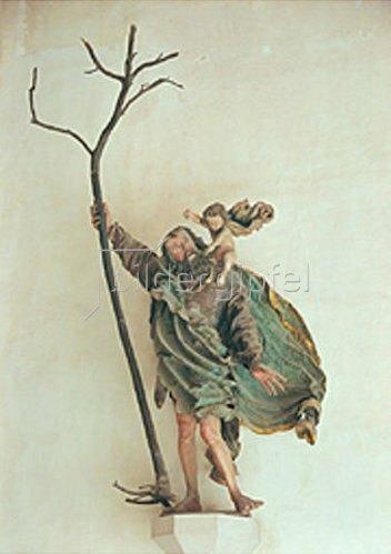Hans Leinberger: Der heilige Christophorus.