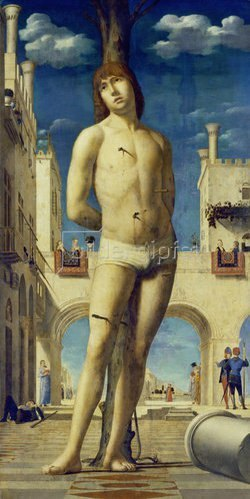 Antonello da Messina: Der hl. Sebastian. Um 1475/76