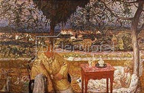 Pierre Bonnard: Gespräch im Park. 1912/13