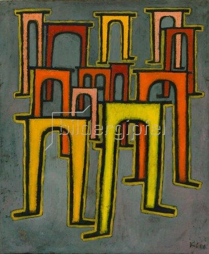 Paul Klee: Revolution des Viaduktes. 1937