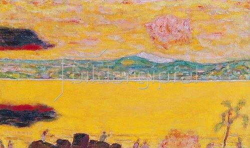 Pierre Bonnard: Der Golf von St. Tropez.