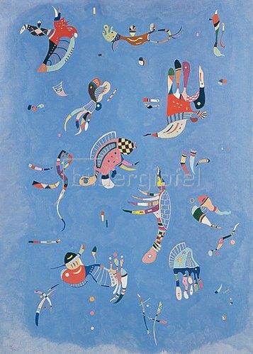 Wassily Kandinsky: Himmelsblau. 1940.