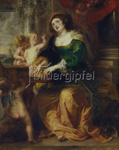 Peter Paul Rubens: Die heilige Cäcilie. Um 1639/40