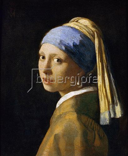Jan Vermeer van Delft: Das Mädchen mit der Perlenohrgehänge. Um 1665