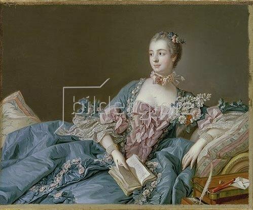 François Boucher: Madame de Pompadour.