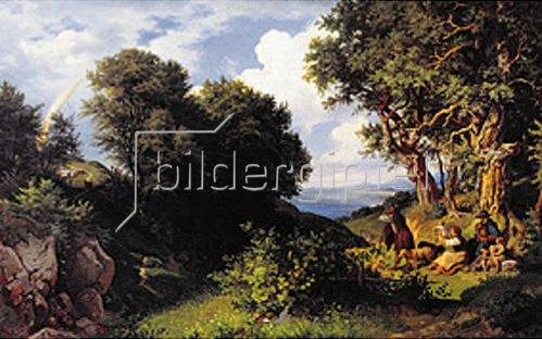 Ludwig Richter: Im Juni II., 1863.