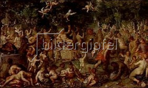 Hendrick van Balen: Das Bacchanal.