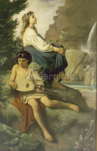 Anselm Feuerbach: Ricordo di Tivoli. 1868.