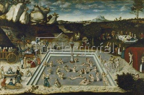 Lucas Cranach d.Ä.: Der Jungbrunnen. 1546.
