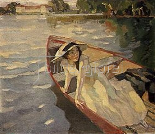 Leo Putz: Abendsonne. 1917.