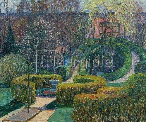 Heinrich Vogeler: Frühlingsgarten (Barkenhoff). 1913.