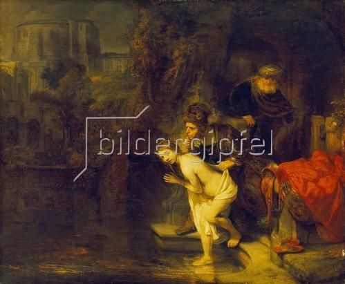 Rembrandt van Rijn: Susanna und die beiden Alten. 1647.