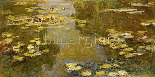 Claude Monet: Seerosenteich. 1913