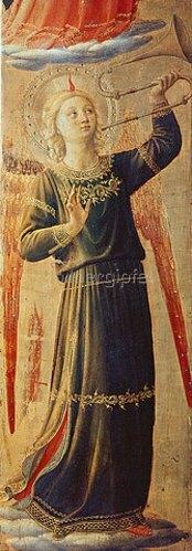 Fra Angelico: Musizierender Engel.