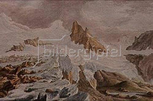 Kaspar Wolf: Der Breithorngletscher. 1776.