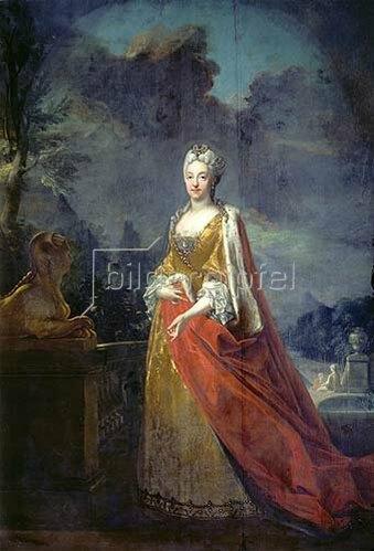 Joseph Vivien: Maria Amalia von Bayern, Gemahlin Karl Albrechts.