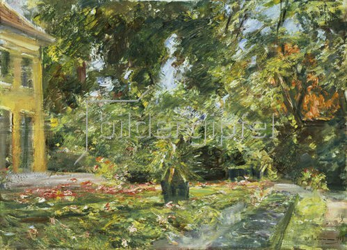 Max Liebermann: Garten in Wannsee. 1929