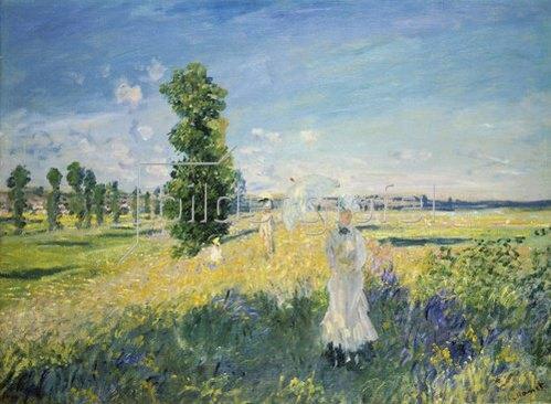 Claude Monet: La Promenade (Argenteuil).
