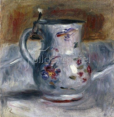 Auguste Renoir: Porzellankrug.