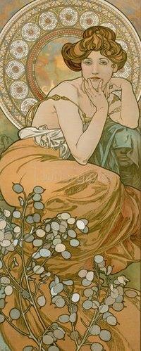 Alfons Mucha: Topas. 1900.