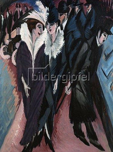 Ernst Ludwig Kirchner: Die Strasse. 1913
