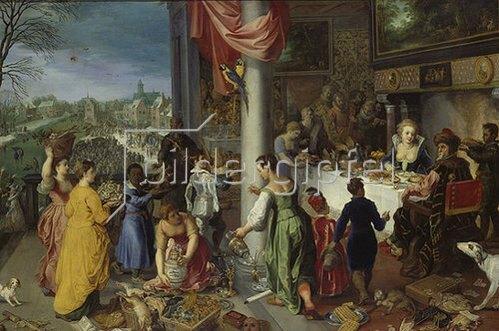 Hendrick van Balen: Der Winter. 1616