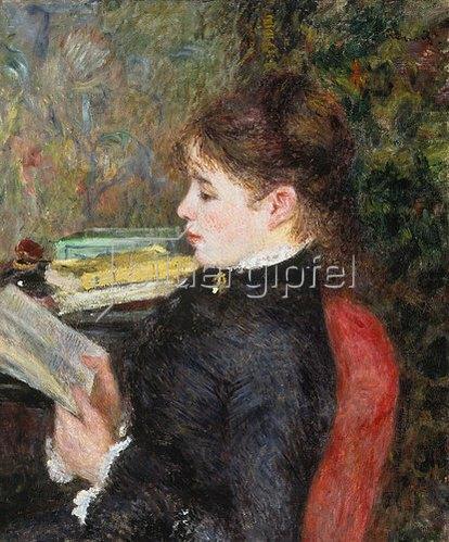 Auguste Renoir: Lesende.