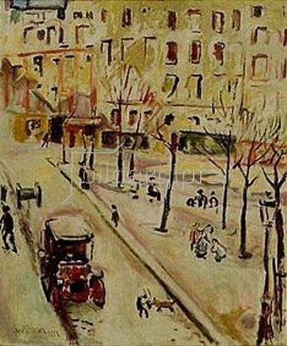 Emile Othon Friesz: Pariser Strassenszene. 1907.