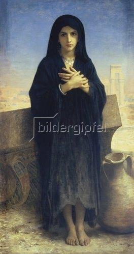 William Adolphe Bouguereau: Junges Fellachenmädchen. 1876.