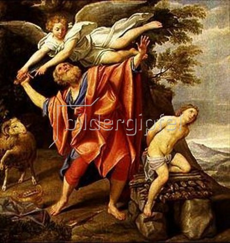 Domenico (Domenichino) Zampieri: Das Opfer Abrahams.