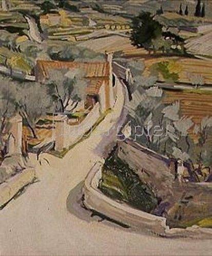 Reinhold Koeppel: Cassis bei Marseille. 1928.