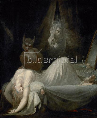 Johann Heinrich Füssli: Der Nachtmahr. 1790/91