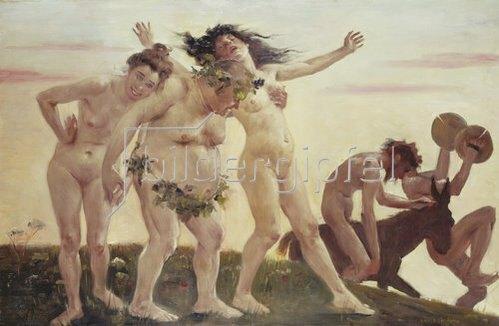 Lovis Corinth: Heimkehrende Bacchanten. 1898