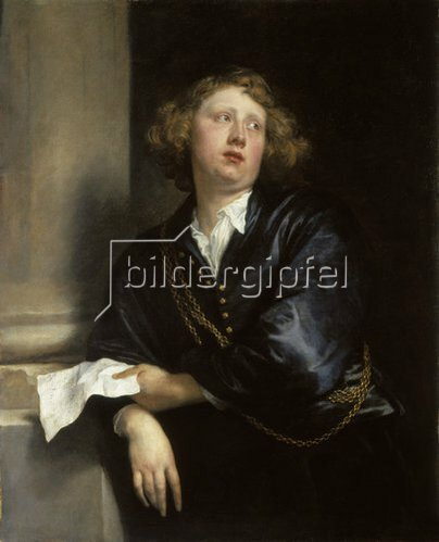 Anthonis van Dyck: Bildnis des Organisten Hendrik Liberti (1600-1669). 1627/1632.