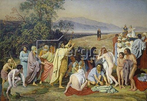 Alexander Iwanow: Erscheinung Christi vor dem Volke. 1837/57