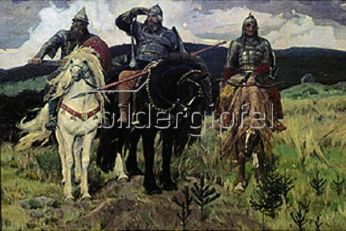 Viktor Michailow Wasnezow: Die Recken. 1881/1898.