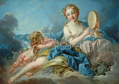 François Boucher: Terpsichore, die Muse der Chorlyrik.
