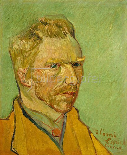 Vincent van Gogh: Selbstbildnis. Arles, November/Dezember 1888.
